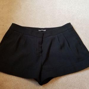 Express   Dressy black shorts